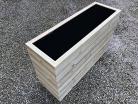 Cuboid Decking Planter 2000mm x 400mm 6 Tier